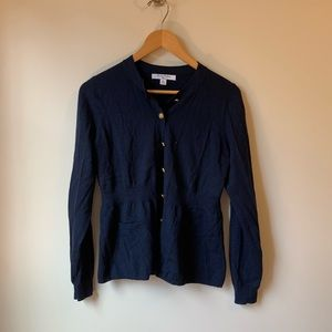 Brooks Brothers Gold Button Cardigan Sweater